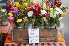 04/22/17 | Has the most beautiful farmer's market visit this morning! The best market! 💐 (Tonya Faye) Tags: challenge project 365 fullframe prime 18 85mm canon6d bloomington market farmersmarket bouquet spring