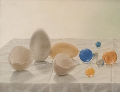 Eggshells and Marbles, 1956 (Jonathan Lurie) Tags: marbles mia jonathan wilde art museums modern museum minneapolis eggsshells tempera panel institute artinmuseums jonathanwilde minneapolisinstituteofart modernart temperaonpanel minnesota unitedstates us wildeart