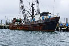 Hard Life (thetrick113) Tags: net harbor rust newengland rhodeisland oxidation fishingboat atlanticocean hdr eastcoast northatlantic newportrhodeisland newportharbor baitboat fivejs sonyslta65v fvfivejs rhodeislandfishingfleet