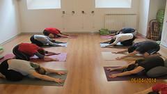 Adho Mukha Virasana (Scuola Yoga Camerino) Tags: adho mukha virasana