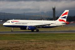 British Airways G-EUYM, OSL ENGM Gardermoen (Inger Bjørndal Foss) Tags: norway airbus britishairways osl gardermoen a320 engm geuym