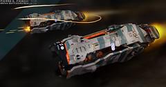 BRINN BATTLECRUISER (Pierre E Fieschi) Tags: test art ship lego pierre space navy camouflage micro spaceship fi concept sci brinn microspace battlecruiser fieschi microscale pierree microspacetpia ultaran dradnaught