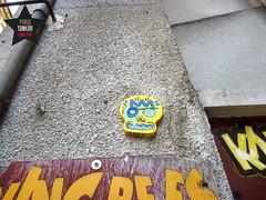 Skull by Tarek  Agen (Pegasus & Co) Tags: urban streetart art colors face painting skull graffiti artwork stencil paste paintings arts dessin peinture menatwork worldwide rue bd tte artistes  urbain tarek crne   arturbain   geometrik urbart