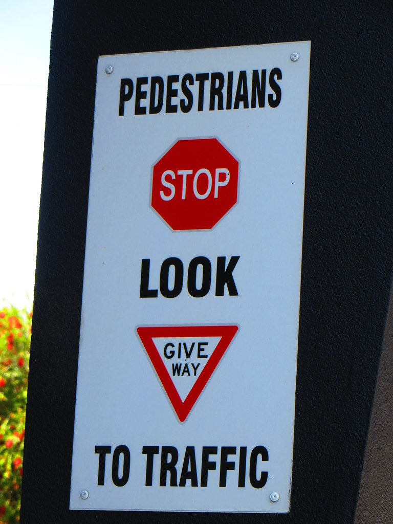 Pesdestruins Stop Look Amp Give Way To Traffic RS 1990 Tags