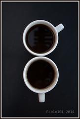 Male/Female (Pablo101) Tags: male coffee female cups