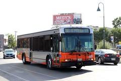 Orange Bus (So Cal Metro) Tags: bus sanantonio texas metro via transit nabi viabus 40lfw texas2014 viatransit