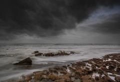 """  TOUCH OF THE DRAMATIC "" (Wiffsmiff23) Tags: longexposure storm beach southwales dramatic drama southerndown traeth dunravenbay heritagecoastlinesouthwales"