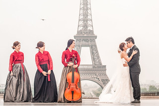 Paris Pre-Wedding Kean & Geyi