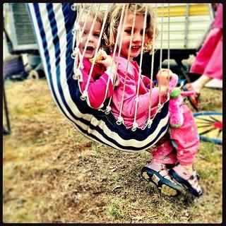 365/297 • curly mischief • #2014_ig_297 #oliviarose #daisybelle #4yo #camping #maldonfolkfestival