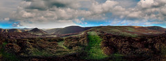 360 degrees Long Mynd (Mike Ashton) Tags: panorama iphone jiggerypokery
