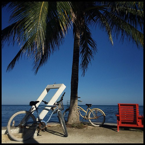 Island still life. Caye Caulker, Belize. November 8, 2014.