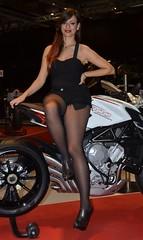 Eicma 2014 Model (412) (Pier Romano) Tags: woman sexy girl beautiful model legs milano babe salone moto motorcycle belle donne hostess bella bellezza fiera gambe ciclo esposizione rho 2014 ragazze modelle eicma