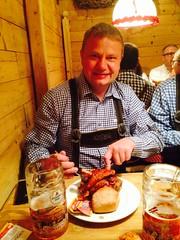 Kjell in The Schwadenbrau zelt!