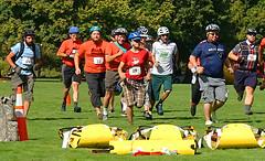 Racing with DeFazio (Wolfram Burner) Tags: park bike baker cargo eugene relief disaster friday emergency burner alton trials eugeneoregon response fema drt bikefriday altonbaker wolfram resilency eugenedrt