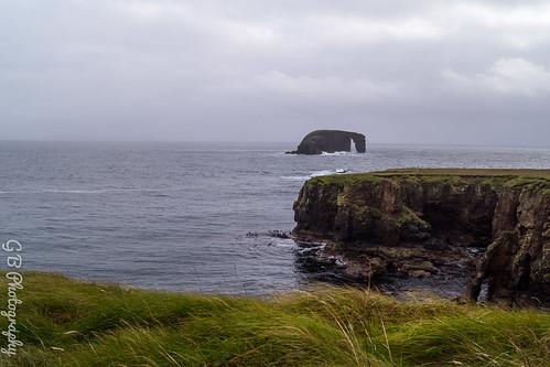 Dore Holm rock near Stennes