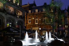 Leidseplein Hotel American (ashu mathura) Tags: city netherlands amsterdam night thenetherlands amstedam 2014 northholland
