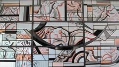 """Vitrail """"L'Histoire de Psych"""" (1933), Atelier de Louis Barillet (1880-1948) - Muse Mendjizky, Ecoles de Paris, Paris XVe, Ancienne demeure et atelier du matre verrier Louis Barillet (1880-1948) (Yvette Gauthier) Tags: paris architecture muse artdco paris15 robertmalletstevens atelierdartiste matreverrier louisbarillet demeuredelesprit musemendjisky colesdeparis"""