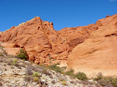 "Tan Sand - Red Rocks - Blue Desert Sky • <a style=""font-size:0.8em;"" href=""http://www.flickr.com/photos/34843984@N07/15360671557/"" target=""_blank"">View on Flickr</a>"