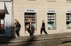 Street style (StylelaB) Tags: street people paris art fashion 35mm photography 14 streetphotography sigma mode parisian streetstyle vsco ahuypham ahuyphamcom