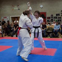 IKK Folkestone Clicker Tournament 19th October 2014 (xDiscobobx) Tags: blackandwhite sports sport canon action karate folkestone kyokushin kyokushinkai ikk pentvalley