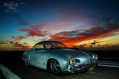 Karmman Sunset (Emmanuel DEPARIS) Tags: car vintage voiture collection ww emmanuel deparis coccinel