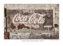 Coca Cola (guillecabrera) Tags: old brick canon rebel coach texas stage brickwall americana cocacola windowdetail oldsign rosenberg historicbuilding canonefs1855 texastown cowboytown historictexas canonsl1 canoneosrebelsl1100d olrailroadcafe