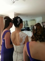 """Wedding Hair by Claire Aston • <a style=""""font-size:0.8em;"""" href=""""http://www.flickr.com/photos/36560483@N04/15408987919/"""" target=""""_blank"""">View on Flickr</a>"""