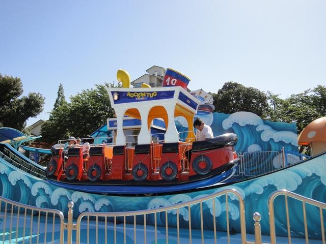 ディズニーランドにあるようなこんな可愛い乗り物も。|ナガシマスパーランド