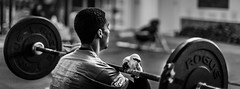 Two fingers (anelectricmonk) Tags: workout fitness crossfit