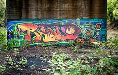 I Remember Halloween (Sky Noir) Tags: halloween graffiti virginia remember massacre chainsaw richmond urbanart hugo hunt rva irememberhalloween