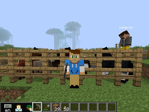 MinecraftEDU Screenshot by Wesley Fryer, on Flickr