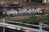 Panik / Lone / Ase (Alex Ellison) Tags: urban graffiti tag railway line lone graff atg trackside panik ase northwestlondon onue