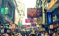 Crowded Mong Kok