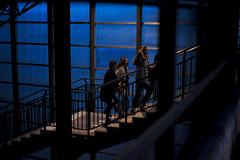 WWPW14 (@AvailableLights) Tags: blue girls people station night 50mm switzerland nikon october availablelight zurich streetphotography worldwide photowalk nikkor 2014 kelby 50mmf18 hardbrcke d610 availablelights wwpw14