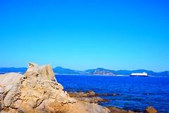 Blue ocean (formosa710) Tags: ocean blue sea sky nature beautiful japan spectacular landscape island coast scenery rocks bluesky nagasaki