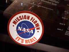 """NASA Flown - It's Real stamp • <a style=""""font-size:0.8em;"""" href=""""http://www.flickr.com/photos/34843984@N07/15546793065/"""" target=""""_blank"""">View on Flickr</a>"""