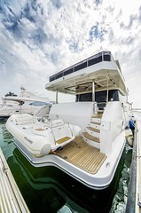 Gulf 75 EXP Aft with tender (Gulf Craft - The Official Page) Tags: expedition yacht explorer tender yachting gulfcraft luxurylife gulf75exp gulfcollection