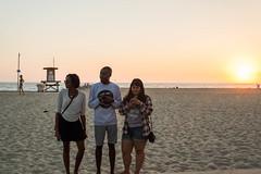 Newport Sunset (AdrienneCredoPhotography) Tags: ocean california friends sunset beach sand nikon candid newport d3200