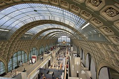 Musée d'Orsay Interior (oxfordblues84) Tags: paris france museum europe trainstation artmuseum trainshed muséedorsay 5photosaday roadscholar roadscholartour