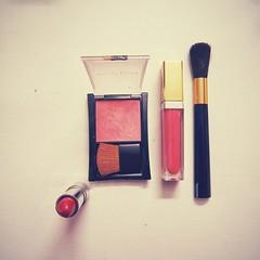 M. Is For Makeup (I m Peace) Tags: pink red rose project women feminine makeup az m gloss lipstick alphabet blush