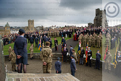 D42_5721.jpg (ffoto keith morris) Tags: uk people wales town war ceremony aberystwyth service welsh warmemorial remembering remembrancesunday