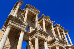The Library of Celsus, Ephesus (Florian  v18) Tags: travel canon turkey tour   relic    24105mm  5d3 5dmarkiii