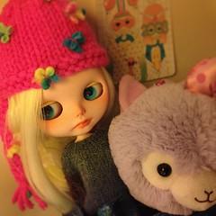 Introducing Marina 🌊✌️ #blythe #custom #kawaii #cute #doll #ooak #factoryblythe