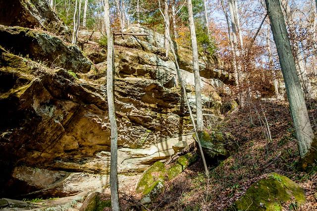 Hoosier National Forest - Hemlock Cliffs - November 8, 2014