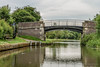 Caughall Bridge and a fish themed wayfinder (hilofoz) Tags: uk england chester caughall