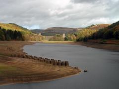 Derwent Reservoir (Dave_Johnson) Tags: derwentvalley derwent derbyshire railway reservoir viaduct pillars derwentreservoir upperderwentvalley
