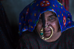 Dhaneta Jat tribe woman in great rann of kutch (anthony pappone photography) Tags: travel girls woman india colors silver colours handmade muslim earring piercing ring rings tribes nomad asie nosering cloth ethnic indi indien nomads indi yat islamic gujarat inde ethnology azi nomade nomadic indland noserings kutch bhuj  jat etnic greatrannofkutch indija  etnia handembroidered ethnie dhanetajat dhaneta   jattpeople jatttribe earringnose earringjatjat jattribe desertkutch kutchtribes anthropologye dhanetajattribe ahirtribe