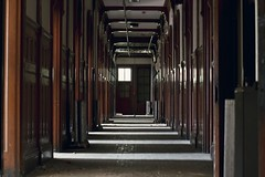 The shining (Bryan Rusch) Tags: school light abandoned boys for hallway shining