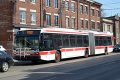 TTC NovaBus LFS Artic #9025 (SteveC123!) Tags: toronto bus nova ttc articulated bendy lfsa