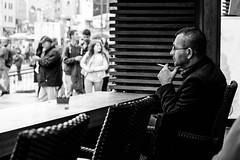 Thinking (㋡ Aziz) Tags: street new travel photography smoke think capture
